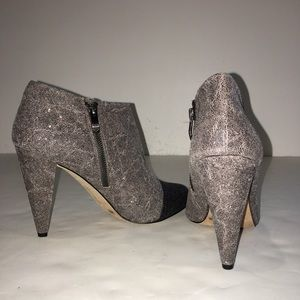 Vince Camuto Two-Tone Booties... New Not in Box